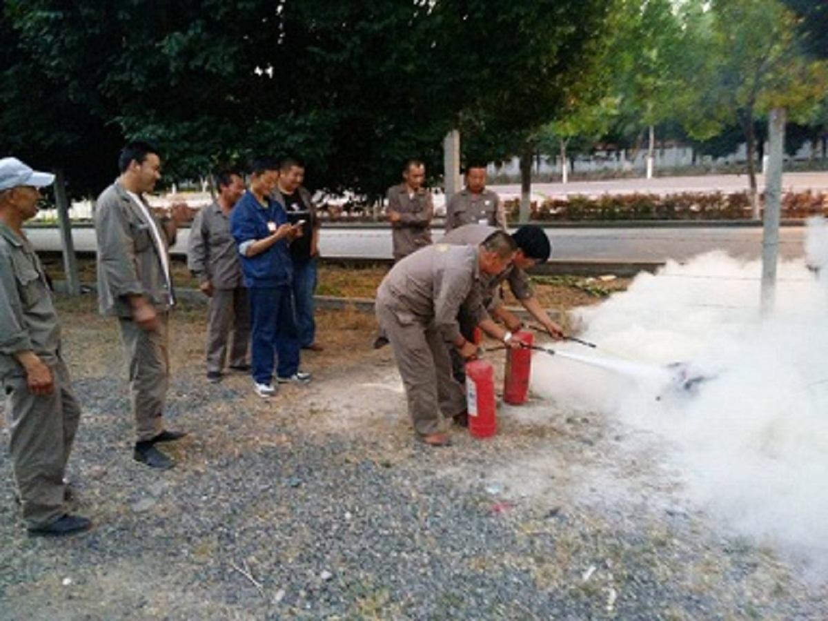 液化气站安全消防培训